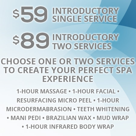 Introductory Service Price Sirius Day Spa, Gainey Ranch
