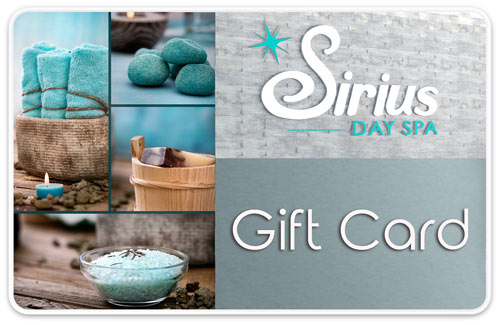 Sirius Day Spa Gift Cards